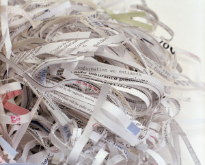 Shredded Paper --- Image by © Stacy Morrison/zefa/Corbis