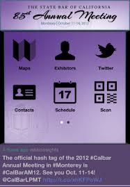CalBarAM12 App Home