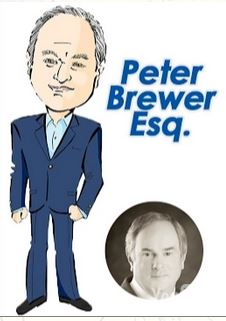 Peter Brewer Caricature